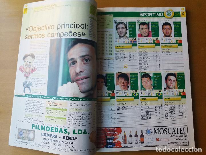 Coleccionismo deportivo: A BOLA . LIGA PORTUGUESA 2007-2008. - Foto 4 - 123519471