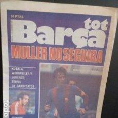Coleccionismo deportivo: TOT BARSA -N .5-1979 PORTADA CRUYFF. Lote 123993151