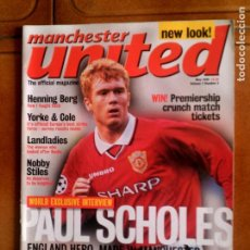 Coleccionismo deportivo: REVISTA MANCHESTER UNITED MAGAZINE N,5 AÑO 1999 EN INGLES. Lote 124254619