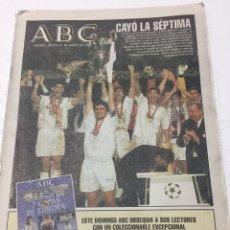 Coleccionismo deportivo: ABC. 21/5/1998. FINAL COPA EUROPA. R. MADRID,1-JUVENTUS,0. Lote 124560000