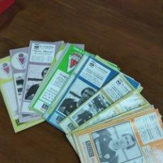 Coleccionismo deportivo: LOTE BOLETÍN REAL MURCIA. 18 NÚMEROS. AÑOS 80.. Lote 124666836
