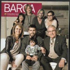 Coleccionismo deportivo: BARÇA, REVISTA OFICIAL DEL FC. BARCELONA - DICIEMBRE, 2013 / ENERO, 2014 - PORTADA: PIQUÉ Y FAMILIA. Lote 125029151