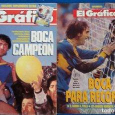 Coleccionismo deportivo: REVISTA EL GRAFICO BOCA JUNIORS CAMPEON 1991 CON SUPLEMENTO ARGENTINA. Lote 126257231