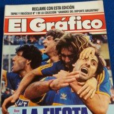 Coleccionismo deportivo: REVISTA EL GRAFICO BOCA JUNIORS CAMPEON 1991 ARGENTINA. Lote 126257595