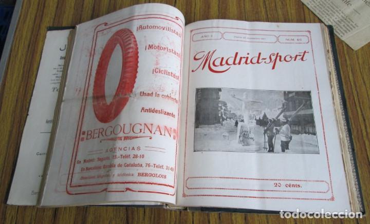 Coleccionismo deportivo: MADRID SPORT Años 1917 a 1918 - Foto 2 - 126313011