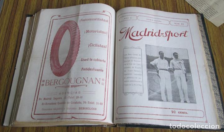 Coleccionismo deportivo: MADRID SPORT Años 1917 a 1918 - Foto 5 - 126313011
