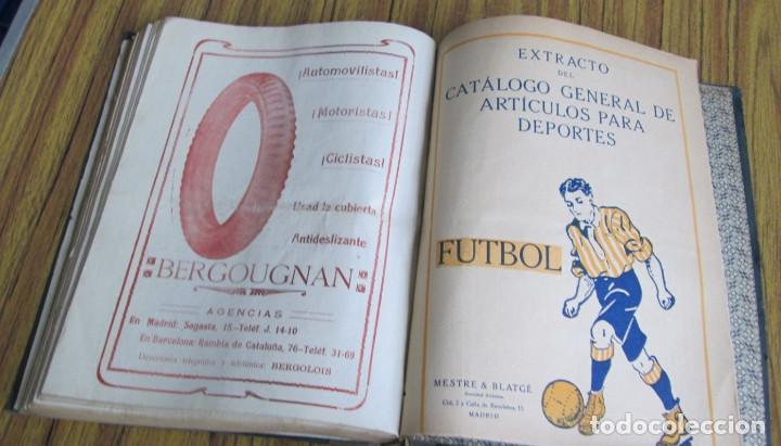 Coleccionismo deportivo: MADRID SPORT Años 1917 a 1918 - Foto 6 - 126313011