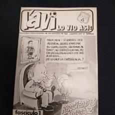 Coleccionismo deportivo: L'AVI LO VIO ASI - FASCICULO 1 - PARTIDO REAL SOCIEDAD - FC BARCELONA - 1974. Lote 126365403