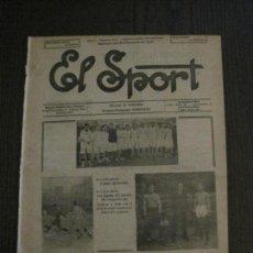 Coleccionismo deportivo: EL SPORT-REVISTA FUTBOL Y DEPORTES-NUM.223-AÑO 1921-BARCELONA -SEVILLA -VER FOTOS-(V-14.895) . Lote 127134207