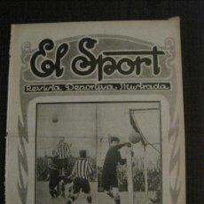 Coleccionismo deportivo: EL SPORT-REVISTA FUTBOL Y DEPORTES-NUM.? -AÑO 192?- BARCELONA-AVENÇ-BETIS-VER FOTOS-(V-14.902) . Lote 127136779