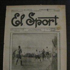 Coleccionismo deportivo: EL SPORT-REVISTA FUTBOL Y DEPORTES-NUM 268-AÑO 1921- BARCELONA-F.C. INTERNACIO-VER FOTOS-(V-14.904) . Lote 127137651