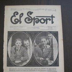 Coleccionismo deportivo: EL SPORT-REVISTA FUTBOL-DEPORTES-NUM 264 -AÑO 1921-BARCELONA-ALCANTARA -ZAMORA -VER FOTOS-(V-14.912). Lote 127141559