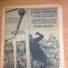 Collectionnisme sportif: REVISTA DEPORTIVA LEAN Nº 403 MARZO 1963 GP MONTJUICH FUTBOL ESPAÑOL -MALLORCA. Lote 127193987