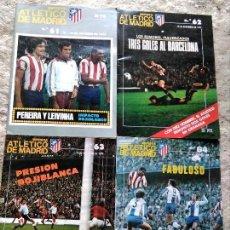 Coleccionismo deportivo: REVISTAS FÚTBOL ATLÉTICO MADRID 1975. Lote 127834179