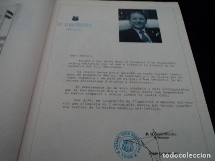 Coleccionismo deportivo: CRONIQUES DEL BARÇA(1899-1991) TEMP.1899/1900 Y RESUMEN RESTO - Foto 2 - 127912339