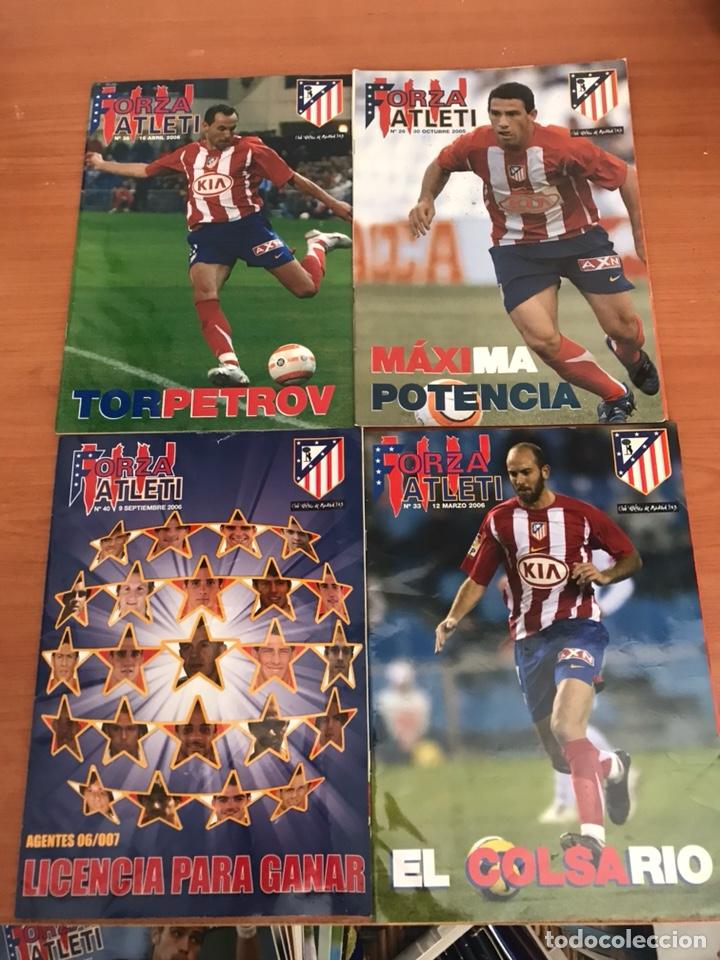 LOTE DE REVISTAS FORZA ATLETI ATLETICO MADRID Y MAS (Coleccionismo Deportivo - Revistas y Periódicos - otros Fútbol)