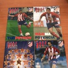 Coleccionismo deportivo: LOTE DE REVISTAS FORZA ATLETI ATLETICO MADRID Y MAS. Lote 127929954