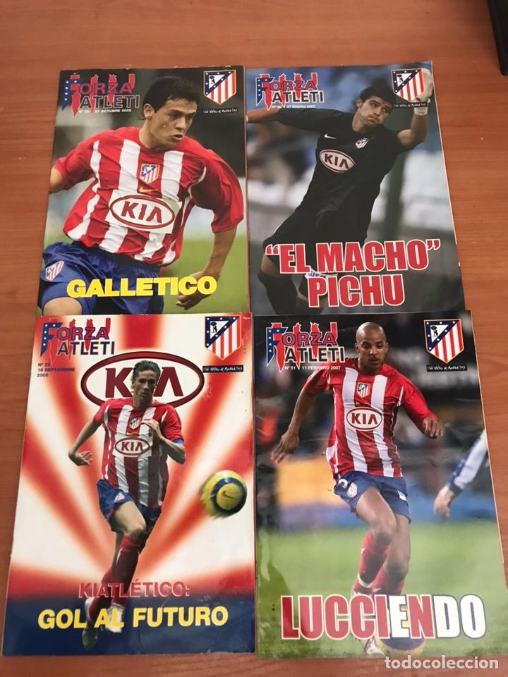 Coleccionismo deportivo: LOTE DE REVISTAS FORZA ATLETI ATLETICO MADRID Y MAS - Foto 3 - 127929954