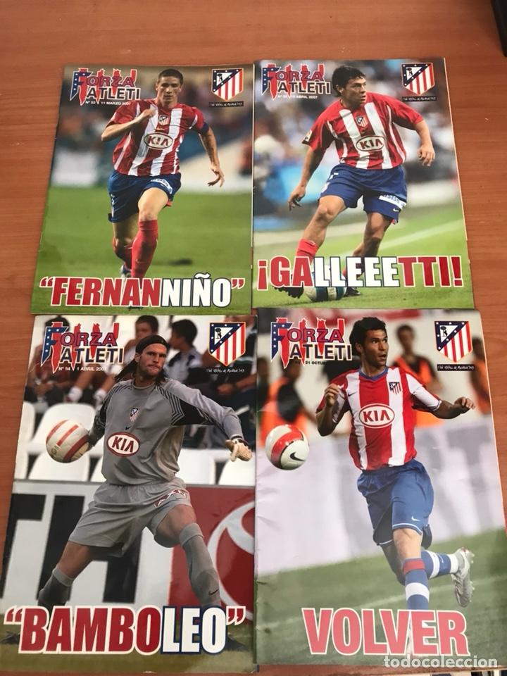 Coleccionismo deportivo: LOTE DE REVISTAS FORZA ATLETI ATLETICO MADRID Y MAS - Foto 4 - 127929954