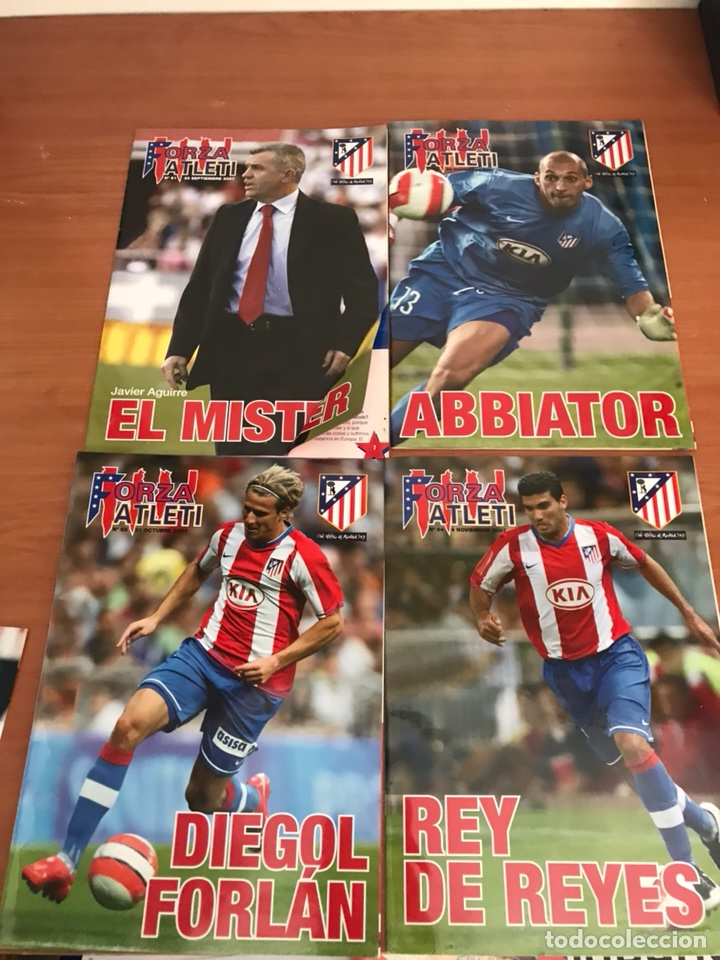 Coleccionismo deportivo: LOTE DE REVISTAS FORZA ATLETI ATLETICO MADRID Y MAS - Foto 5 - 127929954