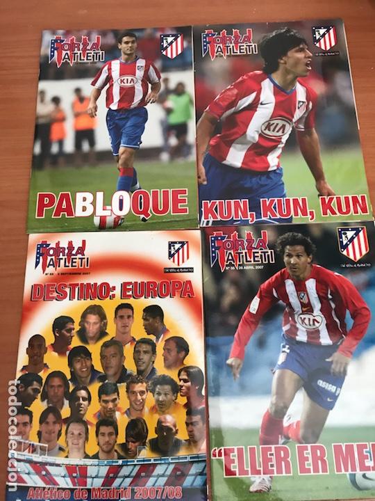 Coleccionismo deportivo: LOTE DE REVISTAS FORZA ATLETI ATLETICO MADRID Y MAS - Foto 8 - 127929954