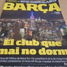 Coleccionismo deportivo: REVISTA BARÇA Nº 83 / EL CLUB QUE MAI NO DORM / INTERESANTES ARTÍCULOS / COMO NUEVA.. Lote 128327291