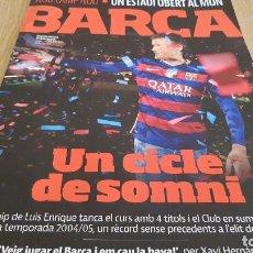 Coleccionismo deportivo: REVISTA BARÇA Nº 81 / UN CICLE DE SOMNI / UN ESTADI OBERT AL MÓN / COMO NUEVA.. Lote 128327643