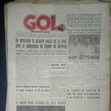 Coleccionismo deportivo: LOTE 200 PERIODICOS DIARIO DEPORTIVO, GOL, FUTBOL, ANTIGUOS, AÑOS 40. Lote 128460131