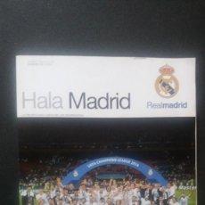 Coleccionismo deportivo: HALA MADRID ¡ LA UNDÉCIMA ! * Nº 58 * MARZO-MAYO 2016 * REAL MADRID ** INCLUYE PÓSTER * COMO NUEVO!!. Lote 128480515