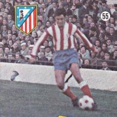 Coleccionismo deportivo: REVISTA ATLÉTICO DE MADRID Nº 55 MAYO 1973-QUIQUE. Lote 128862627