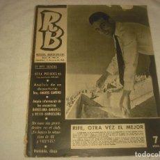 Coleccionismo deportivo: RB. REVISTA BARCELONISTA. Nº 41, ENERO 1966. EN PORTADA RIFE.. Lote 128929871