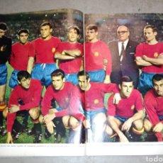 Coleccionismo deportivo: GRACIA BUCCELLA PORTADA ,. SELECION ESPAÑOLA 1968. Lote 131293866