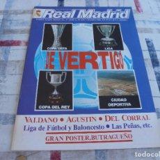 Coleccionismo deportivo: REAL MADRID(3-86)LA LIGA 85-86,VALDANO,AGUSTIN,BALONCESTO,LAS PEÑAS.DEL CORRAL.. Lote 129409827