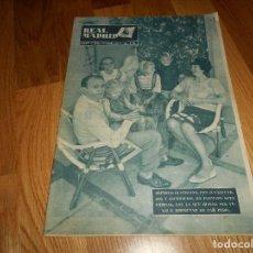 Coleccionismo deportivo: REVISTA DEL REAL MADRID-Nº 160-1963-ALFREDO DI STEFANO-ALBERTO SUAREZ. Lote 129746227
