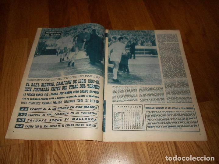 Coleccionismo deportivo: BOLETIN REVISTA OFICIAL REAL MADRID 1960-1961 Nº 131 CAMPEON DE LIGA 60/61 ZAMALEK EL CAIRO-AARHUS - Foto 3 - 129746439