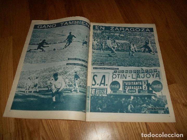 Coleccionismo deportivo: BOLETIN REVISTA OFICIAL REAL MADRID 1960-1961 Nº 131 CAMPEON DE LIGA 60/61 ZAMALEK EL CAIRO-AARHUS - Foto 4 - 129746439