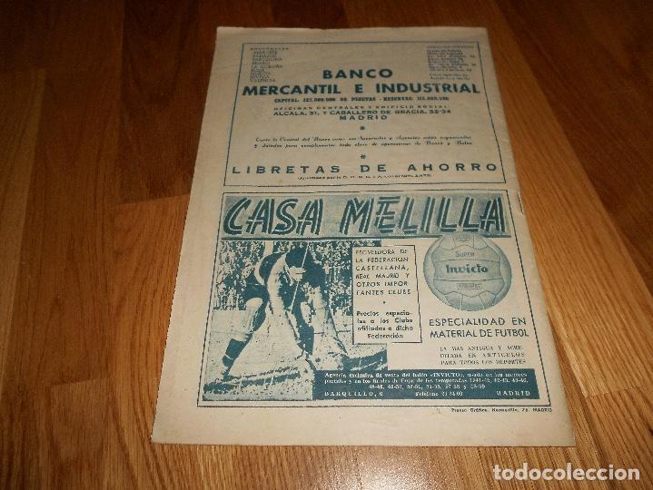 Coleccionismo deportivo: BOLETIN REVISTA OFICIAL REAL MADRID 1960-1961 Nº 131 CAMPEON DE LIGA 60/61 ZAMALEK EL CAIRO-AARHUS - Foto 6 - 129746439