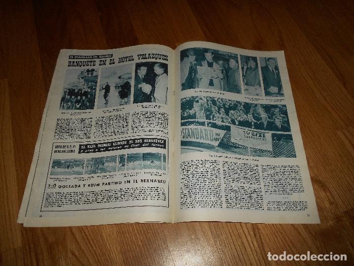Coleccionismo deportivo: BOLETIN REVISTA OFICIAL REAL MADRID Nº 143 CAMPEON LIGA 61/62-COPA EUROPA STANDARD LIEJA 1961/1962 - Foto 3 - 129748235