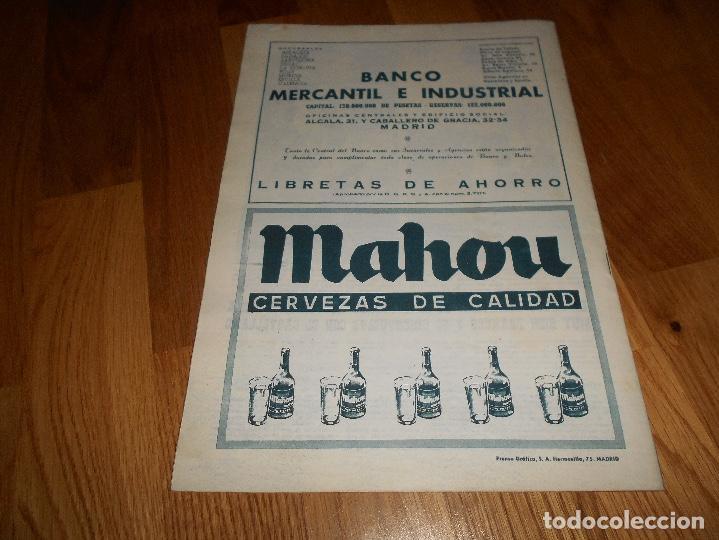 Coleccionismo deportivo: BOLETIN REVISTA OFICIAL REAL MADRID Nº 143 CAMPEON LIGA 61/62-COPA EUROPA STANDARD LIEJA 1961/1962 - Foto 4 - 129748235