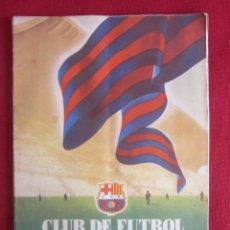 Coleccionismo deportivo: CLUB DE FUTBOL BARCELONA. INFORMACIÓN. Nº 6. 1955. CONSTRUCCIÓN CAMP NOU. Lote 130683144