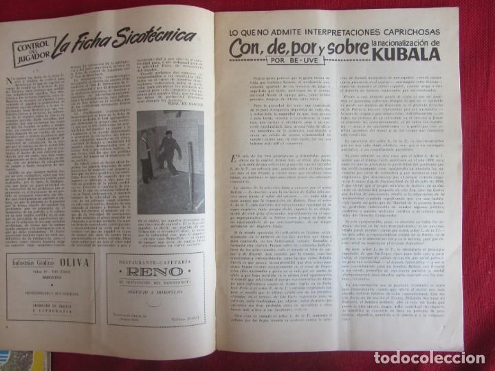 Coleccionismo deportivo: Club de Futbol Barcelona. Información. Nº8. 1955. construcción Camp Nou - Foto 2 - 130683504