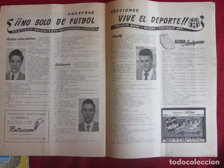 Coleccionismo deportivo: Club de Futbol Barcelona. Información. Nº8. 1955. construcción Camp Nou - Foto 4 - 130683504