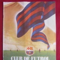 Coleccionismo deportivo: CLUB DE FUTBOL BARCELONA. INFORMACIÓN. Nº9. 1955. CONSTRUCCIÓN CAMP NOU. Lote 130683809