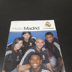 Coleccionismo deportivo: REVISTA HALAMADRID. N° 16. SEPTIEMBRE - NOVIEMBRE 2005.. Lote 130907260