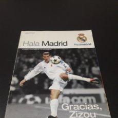 Coleccionismo deportivo: REVISTA HALAMADRID. N° 19. JUNIO - AGOSTO 2006.. Lote 130907668