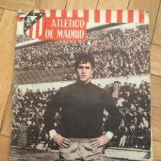 Coleccionismo deportivo: REVISTA OFICIAL ATLETICO MADRID Nº 72 MARZO 1966 BORUSSIA DORTMUND CONSTRUCCION VICENTE CALDERON. Lote 130940144