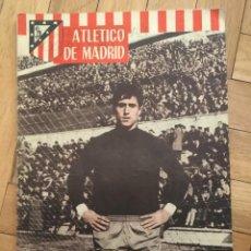 Coleccionismo deportivo: REVISTA OFICIAL ATLETICO MADRID Nº 72 MARZO 1966 BORUSSIA DORTMUND CONSTRUCCION VICENTE CALDERON. Lote 130940156