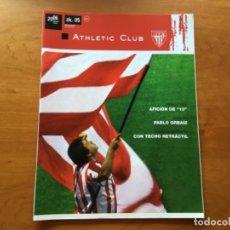 Coleccionismo deportivo: REVISTA OFICIAL ATHLETIC CLUB BILBAO N°5 JUNIO 2006. Lote 131135792