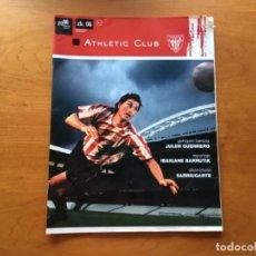 Coleccionismo deportivo: REVISTA OFICIAL ATHLETIC CLUB BILBAO N°6 A AGOSTO 2006. Lote 131135796
