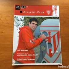 Coleccionismo deportivo: REVISTA OFICIAL ATHLETIC CLUB BILBAO N°8 DICIEMBRE 2006. Lote 131135816